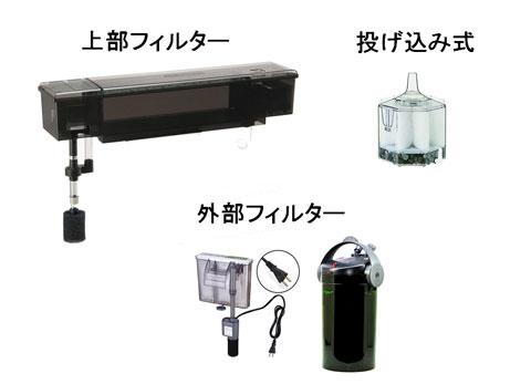 水槽用フィルター