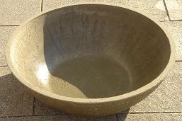 土佐金飼育用の丸鉢